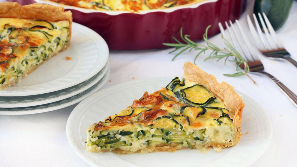 Herbed Zucchini Pie recipe from Pillsbury.com