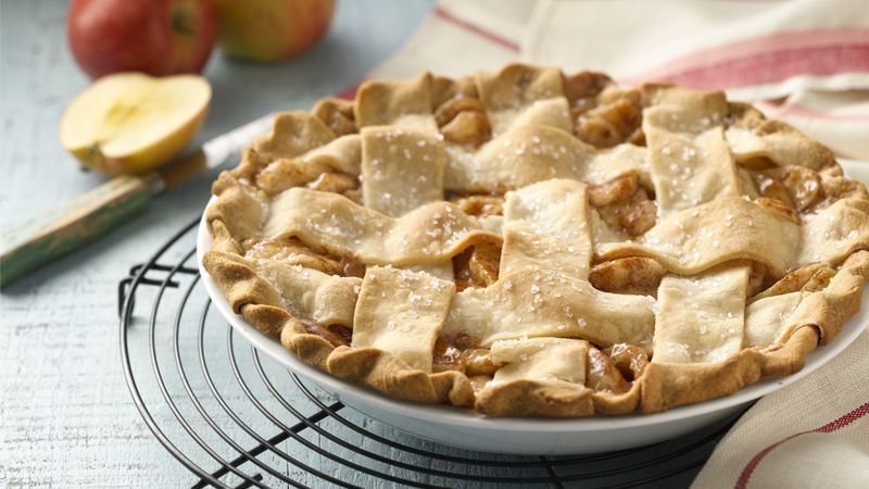 Classic Apple Pie Recipe Tablespoon Com