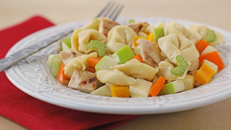Honey-Mustard Chicken and Apple Tortellini Salad