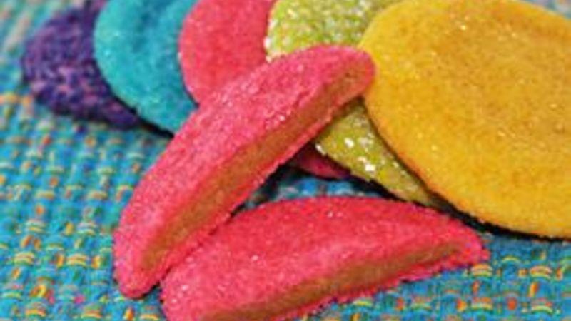 PB-Filled Rainbow Sugar Cookies