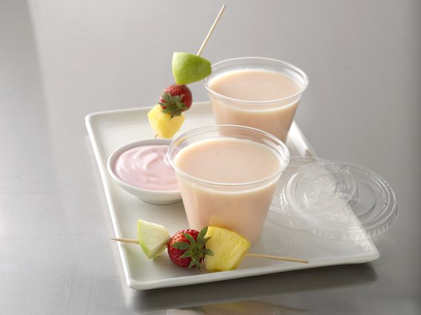 Pineapple Strawberry Blenderless Smoothie