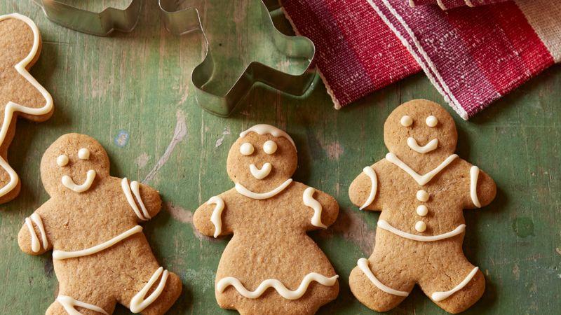 Gluten Free Gingerbread Cutout Cookies