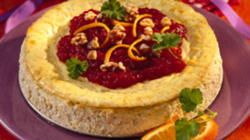 Savory Chicken Cheesecake
