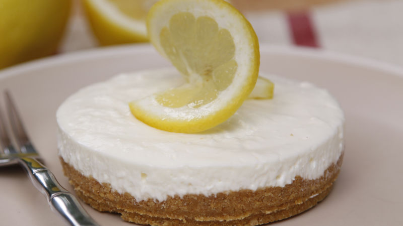Limoncello No-Bake Cheesecake