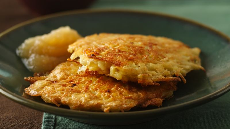 Bisquick potato pancakes recipe bettycrocker bisquick potato pancakes ccuart Image collections