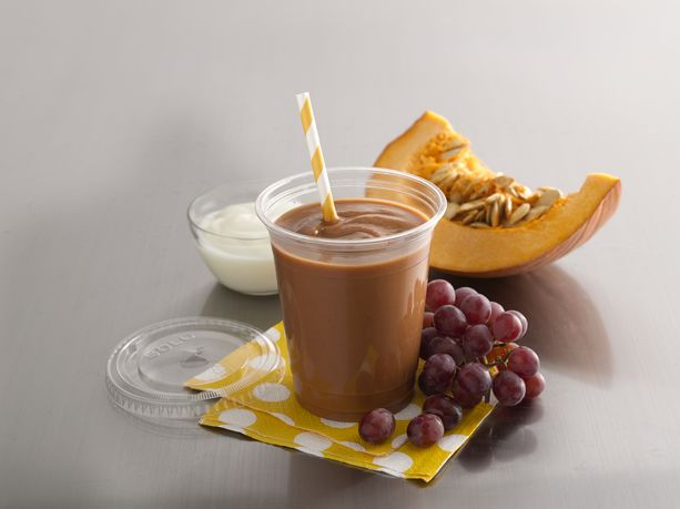 It's the Grape Pumpkin Blenderless Smoothie (Pumpkin Grape)