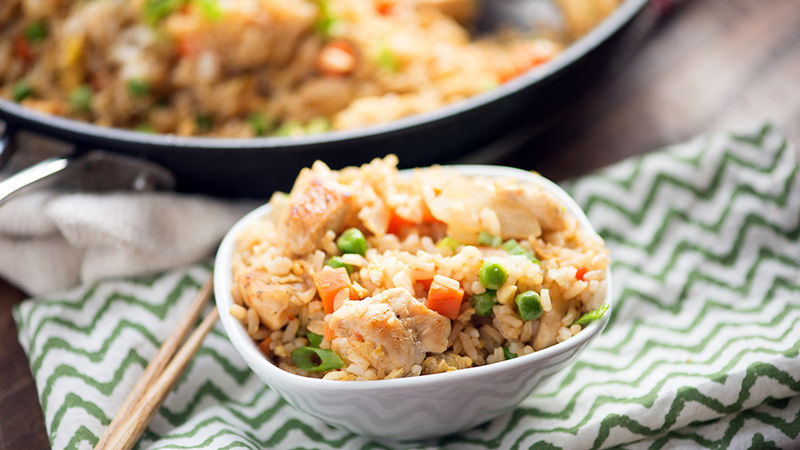 Easy Chinese Chicken Fried Rice