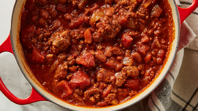 Family Favorite Chili Recipe Bettycrocker Com
