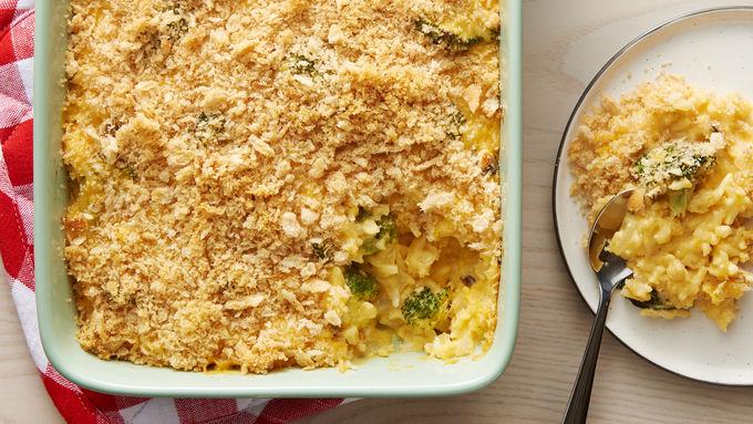 Cheesy Broccoli Rice Bake