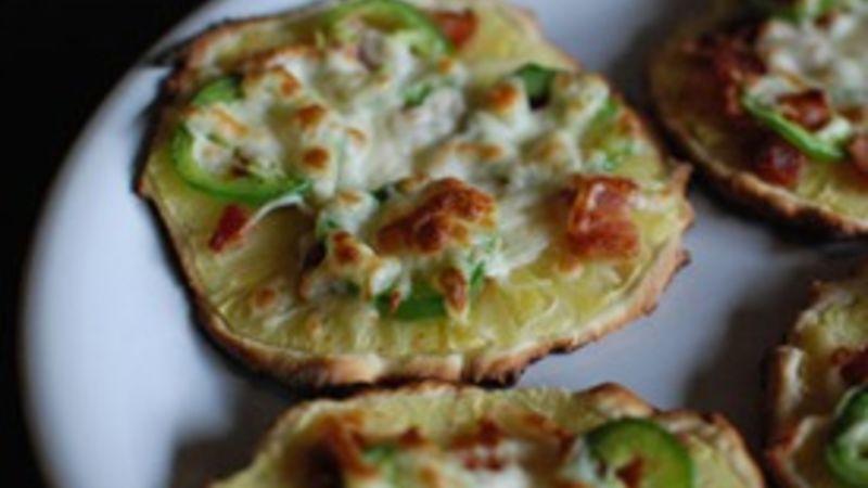 Mini Bacon Pineapple Jalapeño Flatbread