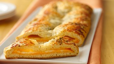 Three-Cheese Crescent Slices