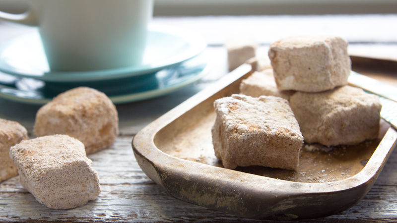 Homemade Snickerdoodle Marshmallows