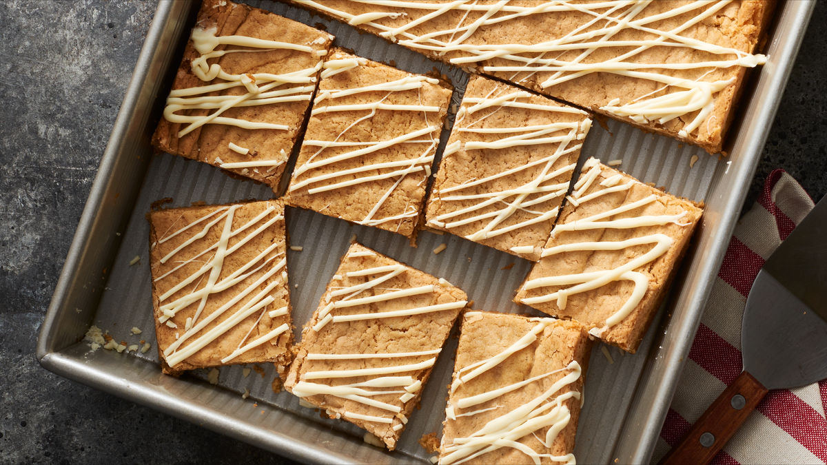 Chewy Chai-Spiced Blondies