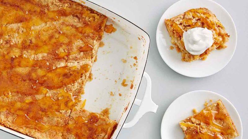 Apricot Dump Cake