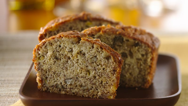 Banana Walnut Cake Recipe Joy Of Baking: Banana Bread Recipe