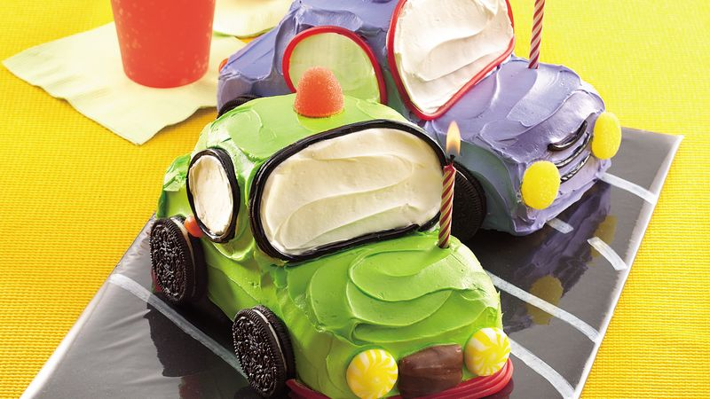 Little Car Cakes Recipe