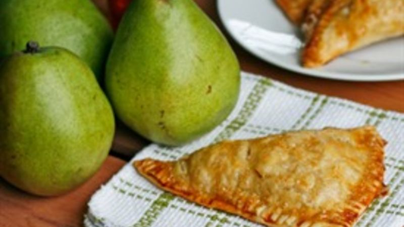 Easy Honeyed Pear Turnovers
