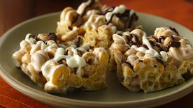 Cinnamon Burst Cheerios® Marshmallow Bars