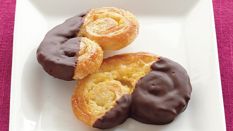 Chocolate-Orange Palmiers