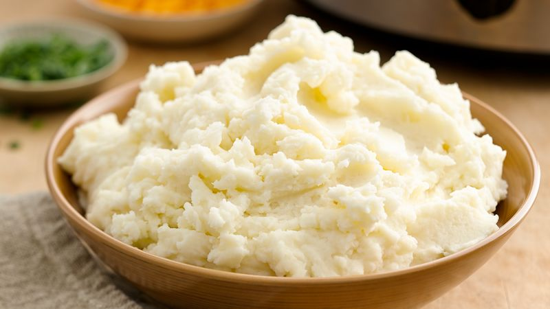 Easy Slow-Cooker Mashed Potatoes