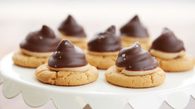 Chocolate Peanut Butter Hi Hat Cookies