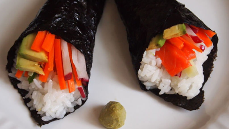 How to Make Temaki Sushi