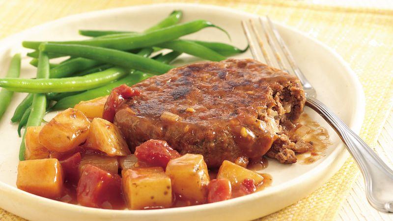 Salisbury Steak Dinner
