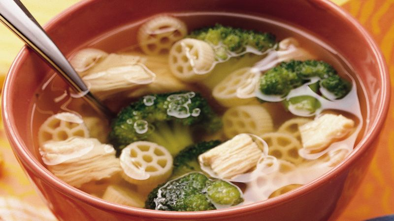 Easy Chicken and Broccoli Soup