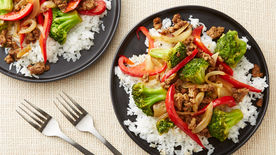 Beef and Vegetable Stir-Fry for Two