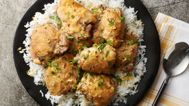 Lemon-Herb Braised Chicken Thighs
