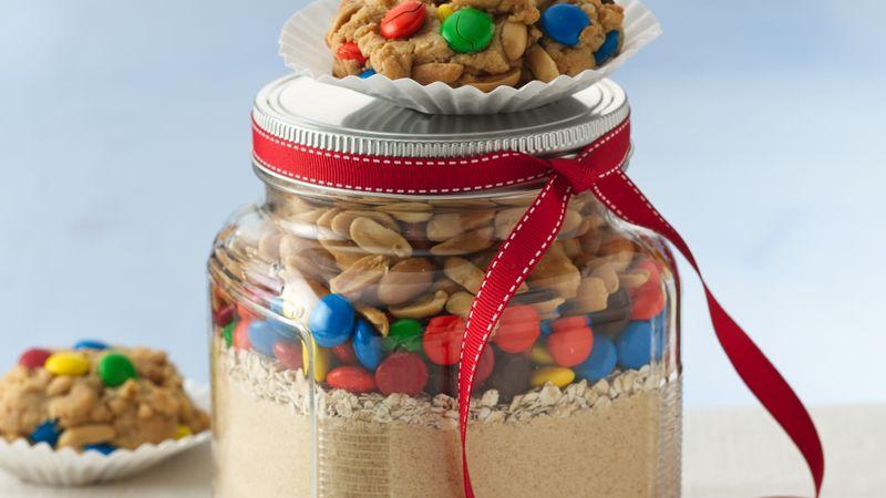 Peanut Butter Candy Jumble Cookies