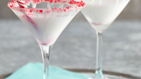White Chocolate Peppermint Martini