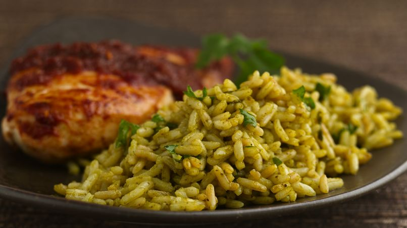 Green Poblano Rice