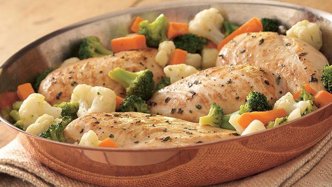 Chicken-in-a-Skillet