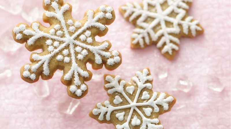 Brown Sugar Snowflakes