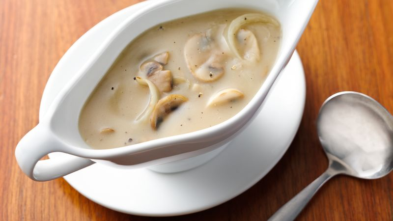 Mushroom Gravy Recipe Pillsbury Com