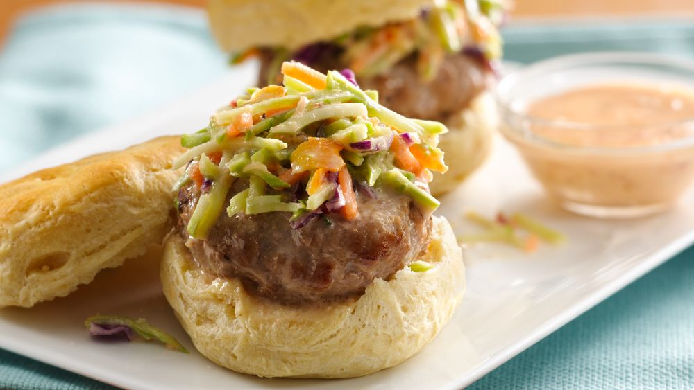 Asian Pork Sliders
