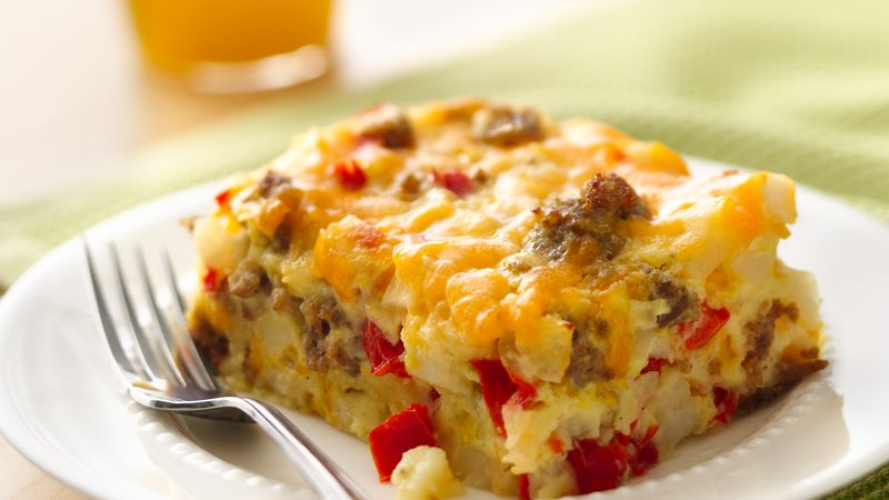 Gluten free impossibly easy breakfast bake recipe bettycrocker gluten free impossibly easy breakfast bake ccuart Gallery