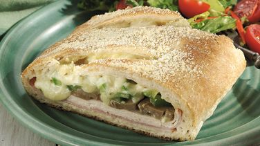 Chicken Cordon Bleu Stromboli
