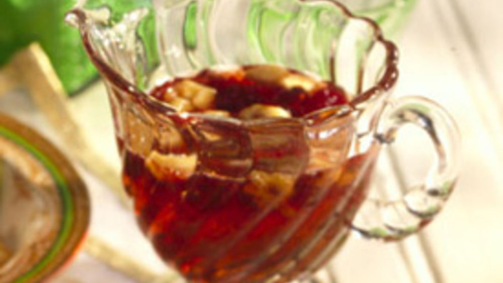 Maple-Cranberry Syrup