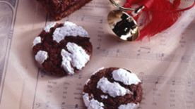 Chocolate Crinkles (lighter recipe)