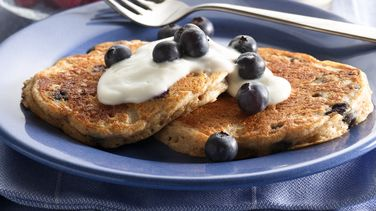 Blueberry-Oat Pancakes