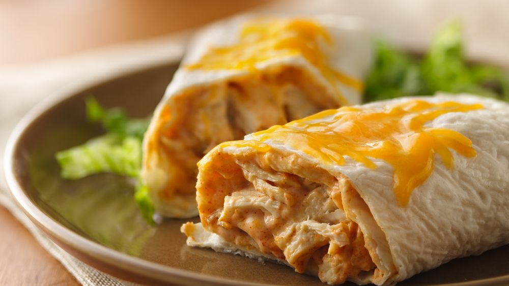 Creamy Turkey Burritos