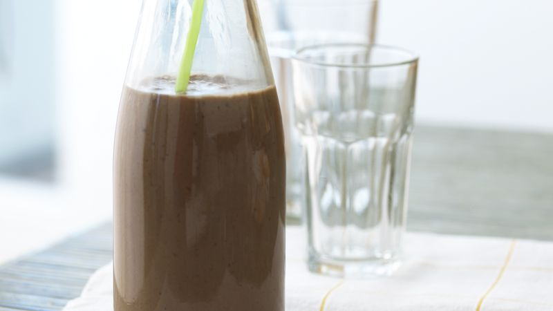 Skinny Freezy Chocolate-Banana Shake