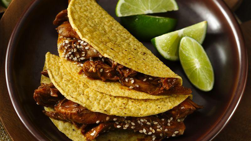 Turkey-Mole Tacos