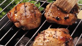 Honey-Glazed Grilled Chicken Thighs
