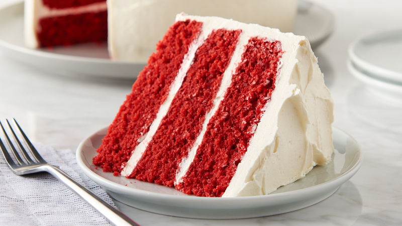 Classic Red Velvet Cake Recipe BettyCrockercom