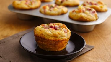 Cheesy Ham and Apple Cups