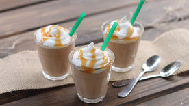 Salted Caramel Mocha Pudding Shots