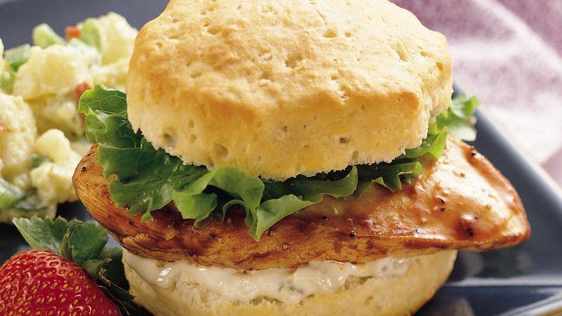 Grands!® Buffalo Chicken Sandwiches